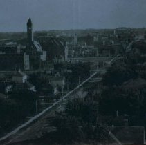 Image of Looking south by southeast from North Dakota Ave. hill, 1909