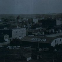 Image of Looking southeast from North Dakota Avenue hill, 1909