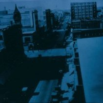 Image of View from top of Shriver's Department Store, ca. 1925-1935