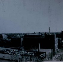 Image of Looking southeast from Central Fire Station, 1933