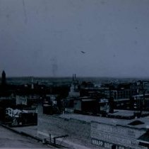 Image of Looking northeast from Central Fire Station, 1933