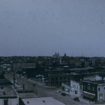 Image of Looking west from Farley-Loetscher Building, 1933