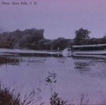 "Image of ""Viola"" on the Big Sioux River, ca. 1890s"