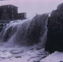 Image of Upper falls of the Big Sioux River, ca. 1898