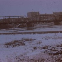 Image of Dam on the Big Sioux River, ca. 1898