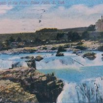 Image of Falls of the Big Sioux River, 1914
