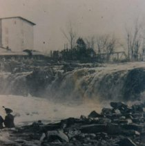 Image of Falls of the Big Sioux River, ca. 1910