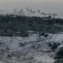 Image of Falls of the Big Sioux River, spring 1929