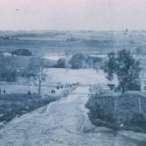 Image of Overflow flood at unidentified location, 1912