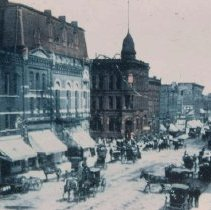 Image of Main Ave. (looking north from 9th St.), 1907