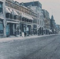 Image of Main Ave. (looking north from 10th St.), 1916