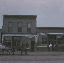Image of West side of Main Ave. (between 7th St. and 8th St.), ca. 1890s
