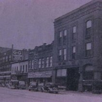Image of West side of Main Ave. (looking south from 6th St.), n.d.