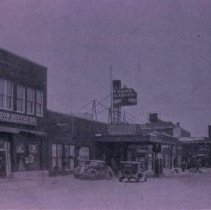 Image of West side of Dakota Ave. (looking north), 1937