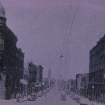 Image of Main Ave. (looking north from 9th St.), 1937
