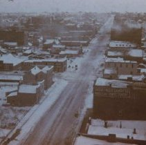 Image of Main Ave. (looking south from Old Courthouse), ca. 1895-1899