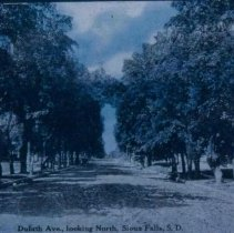 Image of Duluth Ave. (looking north), 1909