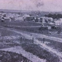 Image of Scenes of Phillips Avenue in Sioux Falls, 1870-1879 -