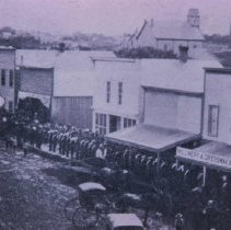 Image of Phillips Ave. (looking south from 10th St.), 1882