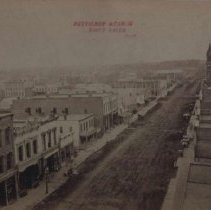 Image of Phillips Ave. (looking south from the Cataract Hotel), ca. 1885