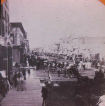 Image of Phillips Ave. (looking north), July 4, 1886