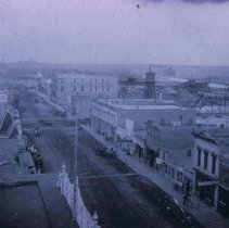 Image of Phillips Ave. (looking north from the Cataract Hotel), 1883