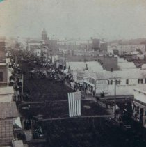 Image of Phillips Ave. (looking south from Commercial House at 8th St.), 1883