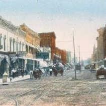Image of Phillips Ave. (looking south from 8th St.), ca. 1910