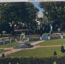 Image of McKennan Park sunken garden, n.d.