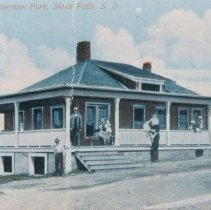 Image of Sherman Park park house, 1916