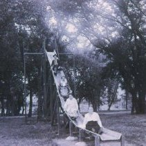 Image of Sherman Park slide, ca. 1916