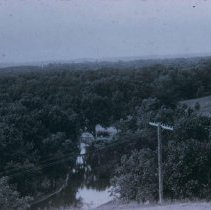 Image of Sherman Park looking down on the river, ca. 1916