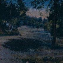 Image of Sherman Park driveway, ca. 1913