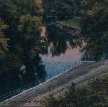 Image of Sherman Park river scene, ca. 1913