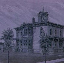 Image of Arthur C. Phillips home (West 8th St.), 1888