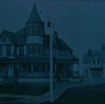Image of A. P. Abbott home (built in 1891 at 315 N. Prairie), ca. 1898