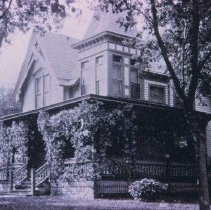 Image of Exterior of Dr. William A. Germain Home in Sioux Falls -