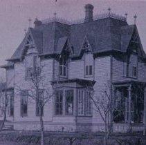 Image of W. T. Doolittle home, built in 1889 (133-135 S. Prairie), n.d.