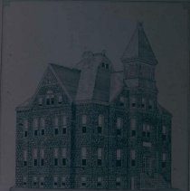 Image of Old Main at Lutheran Normal School, n.d.