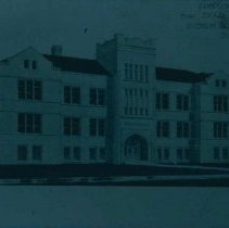 Image of Proposed building for Sioux Falls College by architect Joseph Schwarz, n.d.