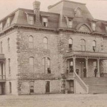 Image of Sioux Falls College, ca. 1880s