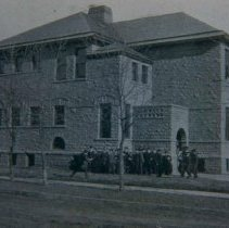 Image of McKinly High School (11th and Spring), ca. 1902