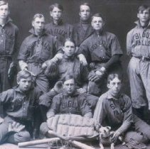 Image of Baseball team (possibly from McKinley High School), 1902