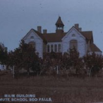 Image of Main building for the South Dakota School for the Deaf, ca. 1900