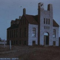 Image of Manual training building at the South Dakota School for the Deaf, ca. 1900