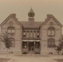 Image of South Dakota School for the Deaf, 1883