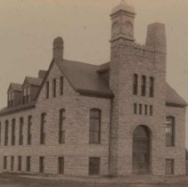 Image of Manual training building at the South Dakota School for the Deaf, n.d.