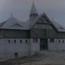Image of Barn at the South Dakota School for the Deaf, n.d.