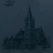 Image of Cathedral of St. Augusta, Calvary House in promotional material, 1889