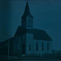 Image of United Evangelical Lutheran Trinity Church, ca. 1898